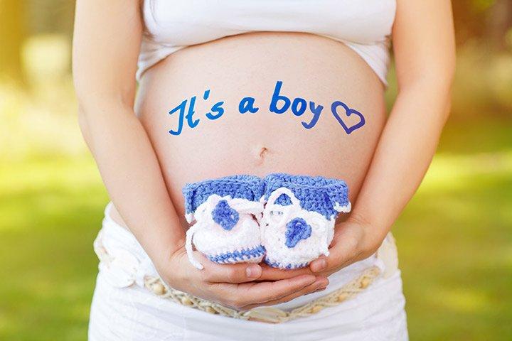 गर्भ में लड़का होने के लक्षण
