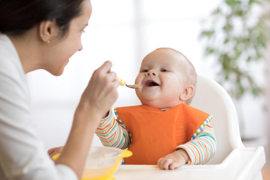 एक साल तक के बच्चों के आहार