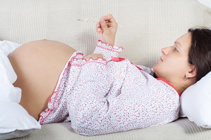 गर्भावस्था में बुखार आना